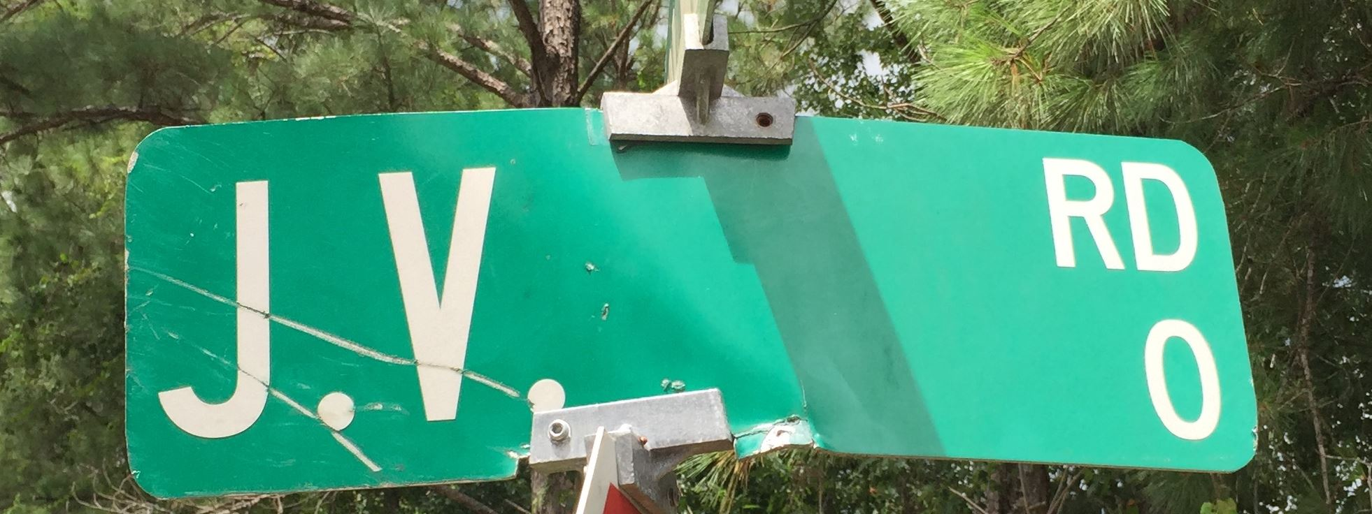 Damaged Street Sign