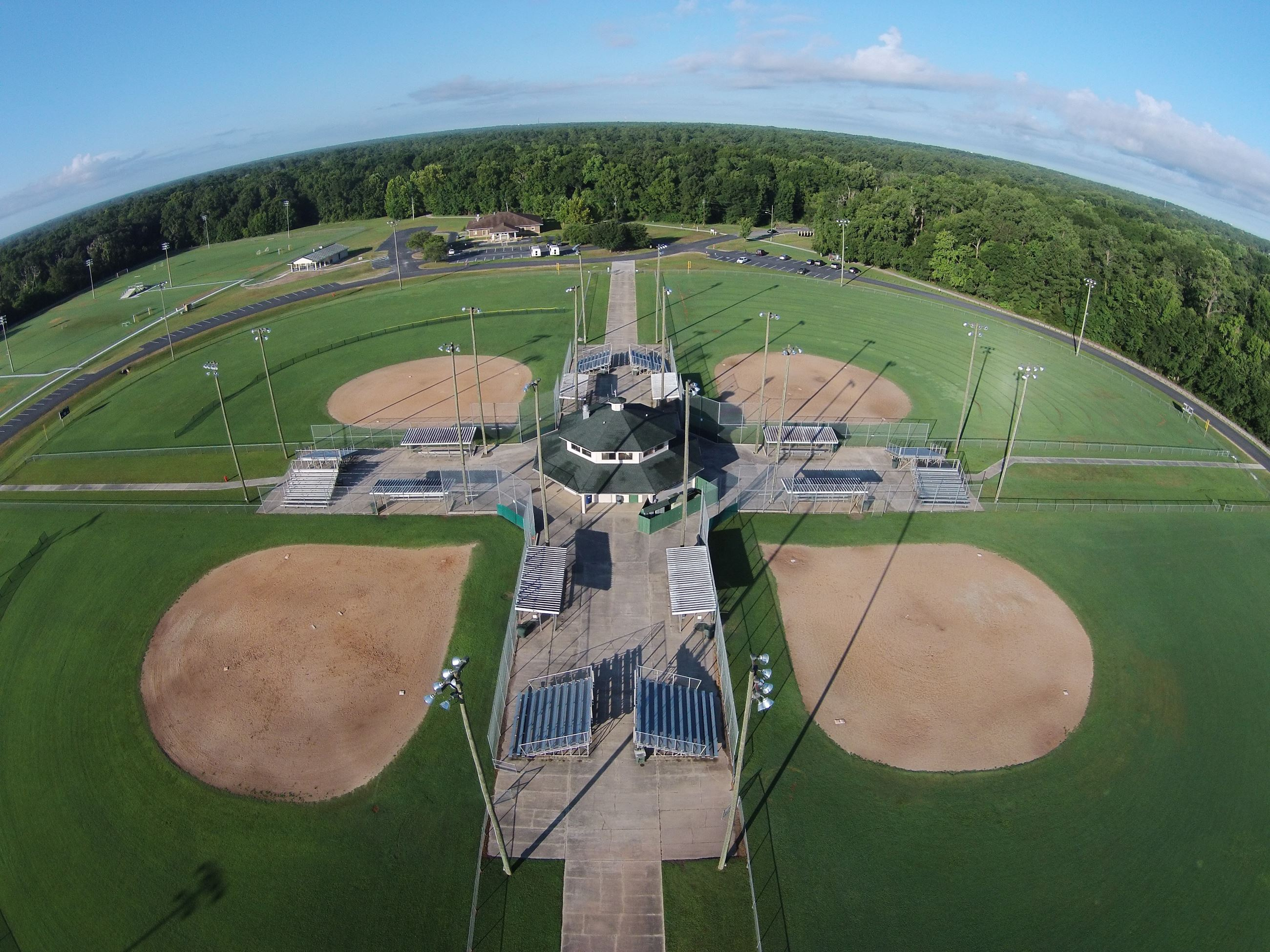 Softball Fields at James Brown Park